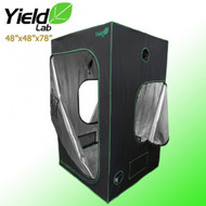 "Yield Lab Grow Tent - 48""x48""x78"" - FREE SHIPPING"