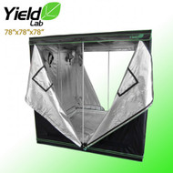 "Yield Lab Grow Tent - 78""x78""x78"" - FREE SHIPPING"