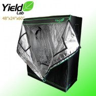 "Yield Lab Grow Tent - 48""x24""x60"" - FREE SHIPPING"