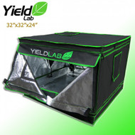 "Yield Lab Grow Tent - 32""x32""x24"" - FREE SHIPPING"