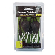 1/8 Inch Hanging Ratchet Light Hangers - 2 Pack