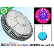 225 Watt Advanced Spectrum MAX 3w-Chip Modular Multi Band LED Grow Light U.F.O.