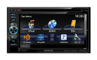 Kenwood (DDX491HD) In-Dash 2-Din Monitor Receiver with Built-in Bluetooth and HD Radio