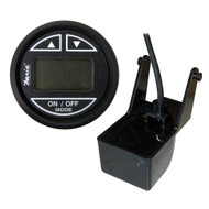 Faria Euro Black 2 Depth Sounder w/Transom Mount Transducer