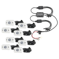 HEISE RGB Accent Light Kit - 8 Pack