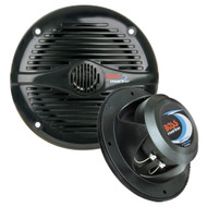 Boss Audio MR50B 5.25 Round Marine Speakers - (Pair) Black