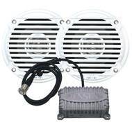 JENSEN CPM50 Bluetooth Amplifier Package w/JAHD240BT 80W, 2-Channel Bluetooth Amplifier  Speakers