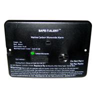 Safe-T-Alert 62 Series Carbon Monoxide Alarm - 12V - 62-542-Marine - Flush Mount - Black - 67945