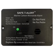 Safe-T-Alert 62 Series Carbon Monoxide Alarm w/Relay - 12V - 62-542-R-Marine - Flush Mount - Black