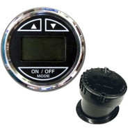 Faria 2 Depth Sounder w/In-Hull Transducer - Black - Stainless Steel Bezel