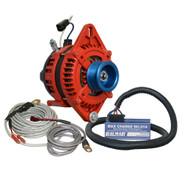 """Balmar Alternator 1-2"""" Single Foot J10 Serpentine Pulley Regulator & Temp Sensor - 170A Kit - 12V"""