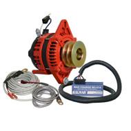 """Balmar Alternator 1-2"""" Single Foot Dual V Pulley Regulator & Temp Sensor - 170A Kit - 12V"""