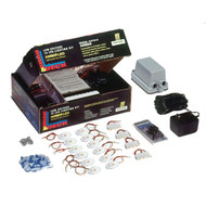 Innovative Lighting Deck & Dock LED Kit - Amber LED/White Housing