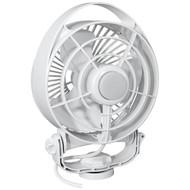 Caframo Maestro 12V 3-Speed 6 Marine Fan w/LED Light - White