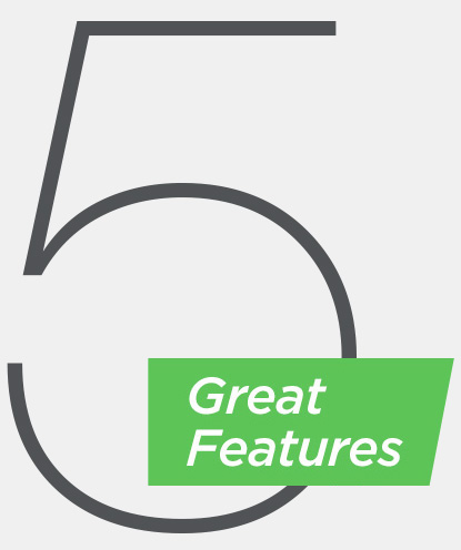 Five great features