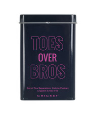 Toes Over Bros Pedi Kit Tin