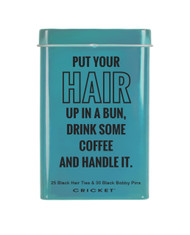 Handle It Tin/Bobby Pins & Hair Ties