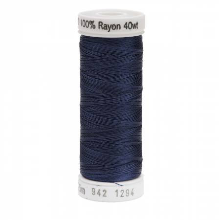 Deep Slate Grey #1294 Rayon Thread 250yds