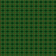 Poinsetta Grandeur - Green Plaid