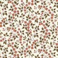 Bethel - Cream Floral & Leaves