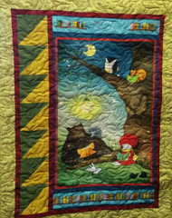 Reading Together Panel Quilt Kit