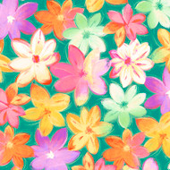 Callie - Packed Floral Abstract
