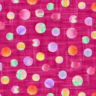 Callie - Dots - Fuchsia
