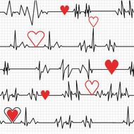 Calling All Nurses - White Heart Beat