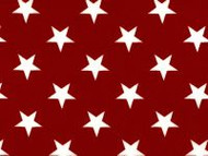 "108"" Quilt Backing - Red/White Stars"