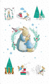 Peter Rabbit Christmas Digital Panel