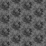 "Toss Floral Historical Reproduction 108"" Wide Back"