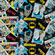 DC Batman Collage