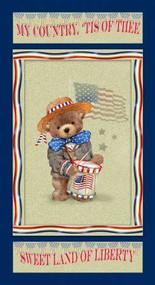 Teddys America - Teddy Bear Panel