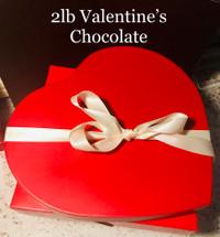 2 Lb. Valentine's Chocolate Box