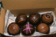 6 Piece Assorted Gourmet Truffles