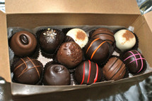 12 Piece Assorted Gourmet Truffles