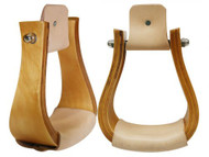 Finished Wood Bell Stirrup