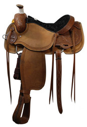 "16"" Showman™ Calf Roper Saddle"