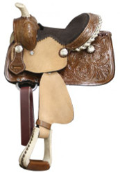 "8"" Double T Pony/ Youth Saddle"