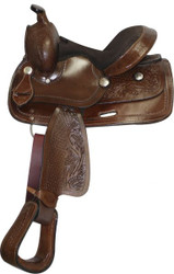 "10"" Double T Pony/ Youth saddle"