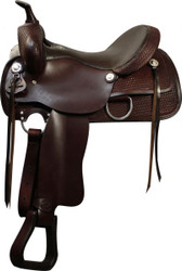 "16"", 17"" Double T Pleasure Style Saddle with Full QH Bars"