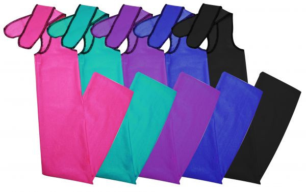 NEW HORSE TACK!! PINK Durable Lycra Braid-In Tail Bag by Showman Products!