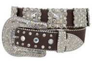 Showman Couture ™  Western style bling belt with removable buckle