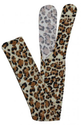 Showman ® Leopard print slip on tail bag.