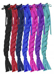 Showman ® Durable Lycra® braid-in tail bag.