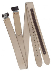 "Showman ® 2 3/4"" wide Replacement WESTERN stirrup leathers."