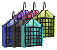 Showman ® Webbed nylon slow feed hay bag.