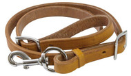 Showman ® 8ft Argentina cow leather tie down strap.