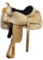 Showman Bullhide Pleasure Trainer Saddle