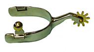 Showman Stainless Steel Roping Spur